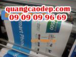Bán standee giá rẻ, standee nhựa, standee nhôm cao cấp tại Tp.HCM