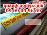 In băng rôn quảng cáo TPHCM, cung cấp dịch vụ in hiflex giá rẻ, in băng rôn hiflex giá rẻ