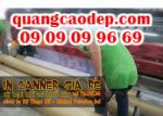 In banner quảng cáo từ chất liệu hiflex