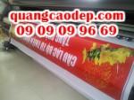 Quảng cáo trên bảng quảng cáo, băng-rôn, biển hiệu, hộp đèn, màn hình chuyên quảng cáo và phương tiện giao thông trong hoạt động quảng cáo