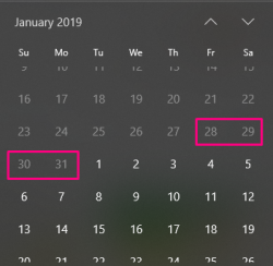 Thông báo chính thức lịch nghỉ Tết dương lịch 2019