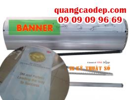 Bán banner cuốn giá rẻ tại HCM, banner show, banner rollup stand