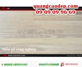 Giá sàn gỗ công nghiệp - Công ty Sàn gỗ Mạnh Trí