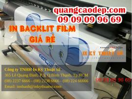In backlit film giá rẻ tại HCM, bảng hiệu hộp đèn quảng cáo