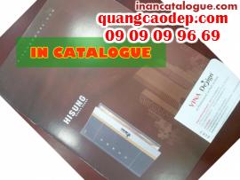 In catalogue giá rẻ cho nhà hàng, giới thiệu dịch vụ ẩm thực đến các khách hàng