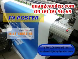 In poster giá rẻ HCM, nhận in poster số lượng ít cho cá nhân, cửa hàng khuyến mãi