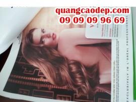 In quảng cáo canvas khổ lớn cho salon tóc cao cấp