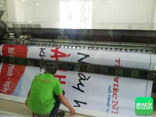 Pano Hiflex khổ lớn quảng cáo cho Công ty Tìm Việc Nhanh