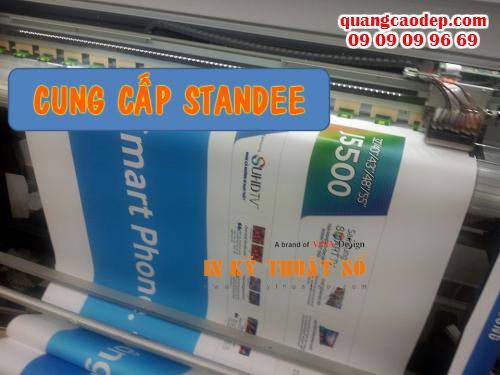 Công ty TNHH In Kỹ Thuật Số - Digital Printing bán standee giá rẻ cho trưng bày poster