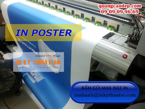 In poster giá rẻ HCM tại Công ty TNHH In Kỹ Thuật Số - Digital Printing